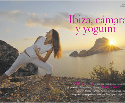 Yoga Journal Spain / Yoga in Ibiza with Lena Tancredi