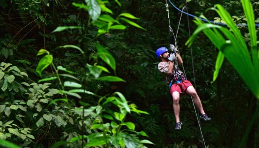 Adrenaline in Costa Rica: Canyoning, Rafting & Canopy